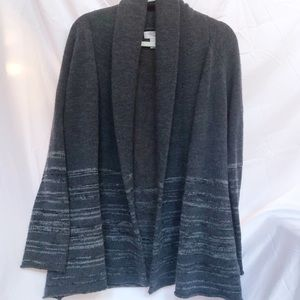 F21 Thick, Cozy Gray Cardigan- Small